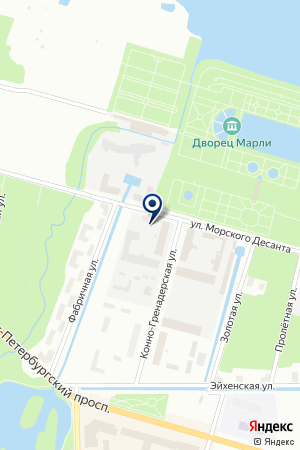 НЕОТЛОЖНАЯ МЕДИЦИНСКАЯ ПОМОЩЬ на карте Петергофа