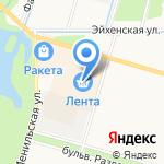 Инструмент Маркет на карте Санкт-Петербурга