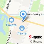 Магазин женской одежды на карте Санкт-Петербурга