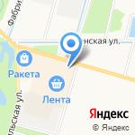 Движение в радость на карте Санкт-Петербурга