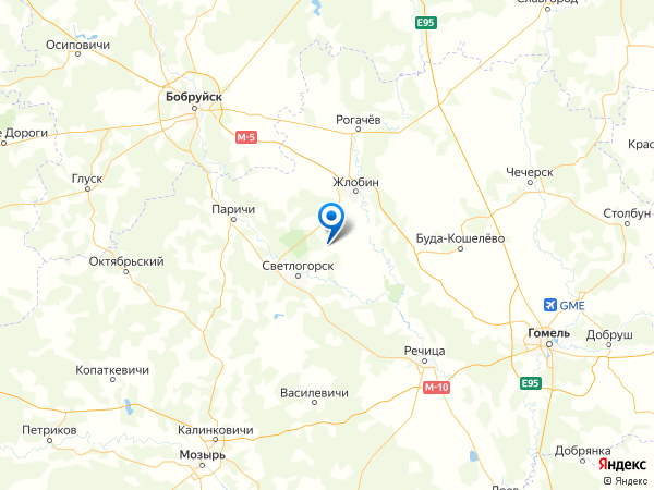 поселок Курган на карте