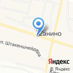 Санинская сельская библиотека на карте Санкт-Петербурга