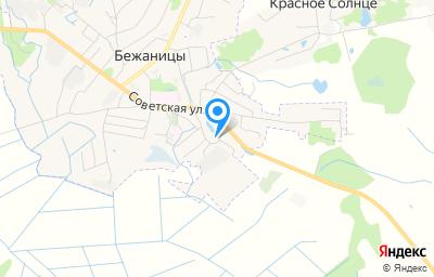 Местоположение на карте пункта техосмотра по адресу Псковская обл, рп Бежаницы, ул Советская, д 90