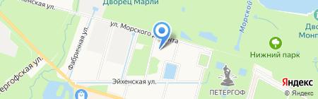 Детский сад №1 на карте Санкт-Петербурга