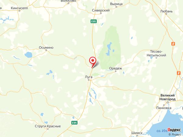 ДНП Преображенское на карте