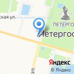 Влас-Лабаз на карте Санкт-Петербурга
