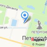 Детский сад №7 компенсирующего вида на карте Санкт-Петербурга