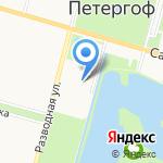 17 отряд ФПС по г. Санкт-Петербургу на карте Санкт-Петербурга