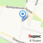 Магнолия на карте Санкт-Петербурга