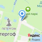 Государевы потехи на карте Санкт-Петербурга