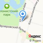 Совет ветеранов на карте Санкт-Петербурга