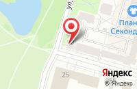 Схема проезда до компании Лот в Петродворце
