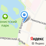 Центр выдачи ТСР на карте Санкт-Петербурга