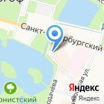 ЗАГС Петродворцового района на карте Санкт-Петербурга
