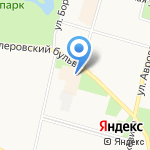 Полушка на карте Санкт-Петербурга