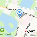 Котопес на карте Санкт-Петербурга