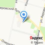 Домоуправление №2 на карте Санкт-Петербурга