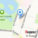 Адвокатская консультация №91 на карте Санкт-Петербурга