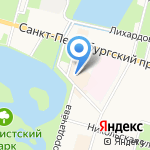 Чинар на карте Санкт-Петербурга