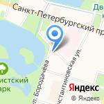 Информационно-методический центр Петродворцового района на карте Санкт-Петербурга