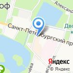 Вена на карте Санкт-Петербурга