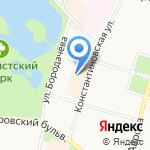 Мир Секонд Хенд на карте Санкт-Петербурга