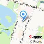 Барский уголок на карте Санкт-Петербурга
