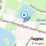 Арго на карте Санкт-Петербурга