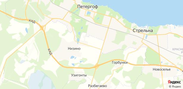 Ольгино на карте