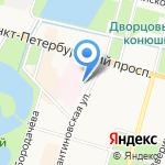 Николаевская больница на карте Санкт-Петербурга