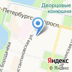 Похоронное Бюро Крондштадтского района на карте Санкт-Петербурга