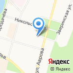 Детская поликлиника №67 на карте Санкт-Петербурга
