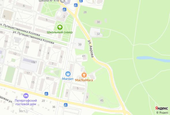 жилой комплекс Петродворцовая резиденция