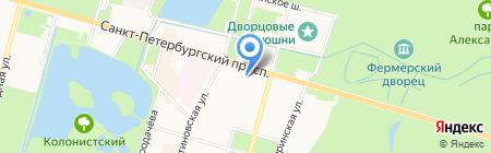 Росреестр Управление Федеральной службы государственной регистрации на карте Санкт-Петербурга