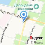 Десятка на карте Санкт-Петербурга