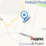 Библиотека №6 на карте Санкт-Петербурга