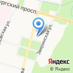 Адвокатская консультация №7 на карте Санкт-Петербурга