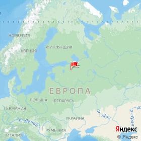 Weather station ESP8266 in Zaklinskoye, Leningrad Region, Russia