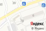 Схема проезда до компании Продуктовый магазин в Новом Учхозе