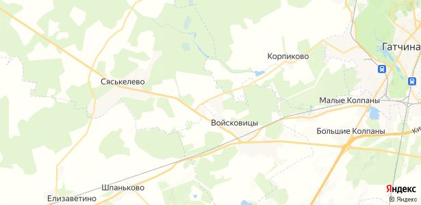 Новый Учхоз на карте