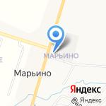 Сан-МарьинО на карте Санкт-Петербурга