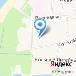 Дубки на карте Санкт-Петербурга