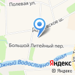 ВОЛГА на карте Санкт-Петербурга