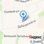 Городская ветеринарная клиника на карте Санкт-Петербурга