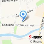 Детский сад №25 комбинированного вида на карте Санкт-Петербурга