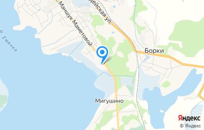 Местоположение на карте пункта техосмотра по адресу Псковская обл, г Невель, ул М.Маметовой, влд 110