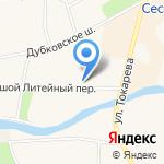 Средняя общеобразовательная школа №556 с углубленным изучением английского языка на карте Санкт-Петербурга