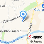 Жилкомсервис Курортного района на карте Санкт-Петербурга
