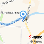 Курорт Безопасность на карте Санкт-Петербурга