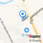 Пожарная часть №27 Курортного района на карте Санкт-Петербурга